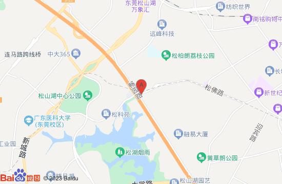东莞松山湖星空失恋博物馆地图