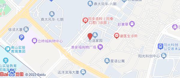 瑞景华庭小区地图