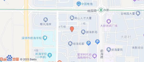 华府国际小区地图