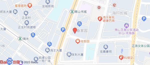 青春家园小区地图