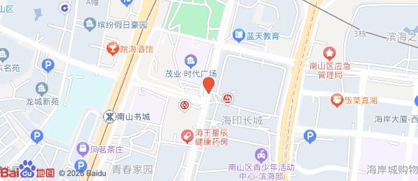 华彩天成小区地图