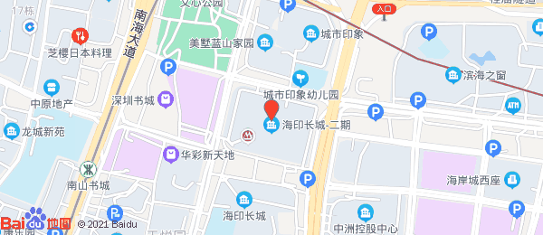 海印长城二期小区地图