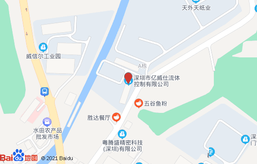 亿威仕公司地图