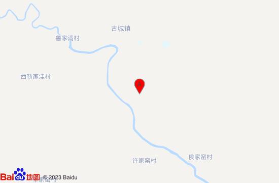 大同神泉古域温泉地图