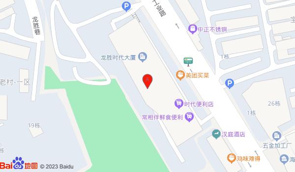 深圳市龙华新区工业西路龙胜时代大厦