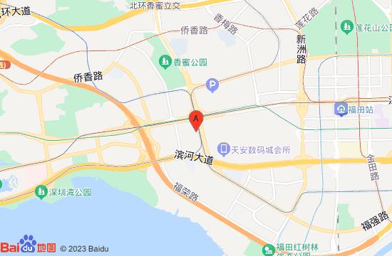 深圳5D星空梦幻错觉艺术馆地图