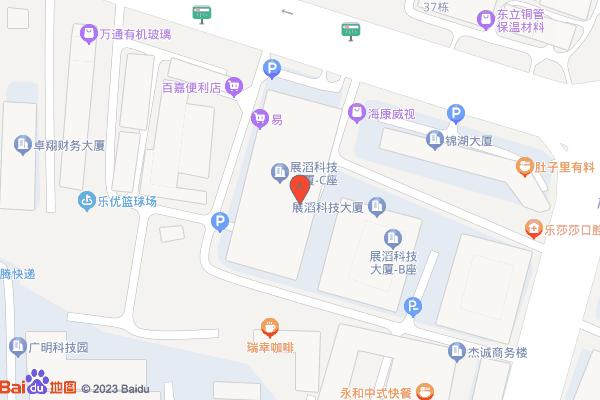 深圳龙华新区民治大道展滔科技大厦A809