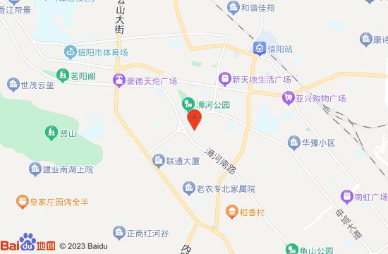 信阳浴乐汤泉地图
