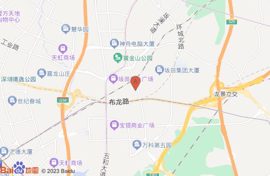 深圳云里梦想乐园地图