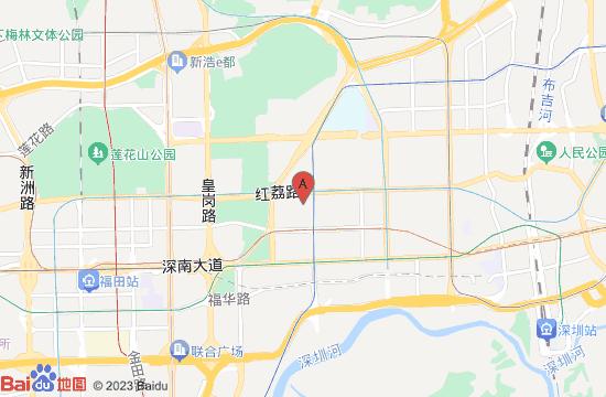 深圳5D星空VR体验馆地图
