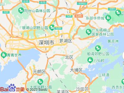 深圳火车站周边地图