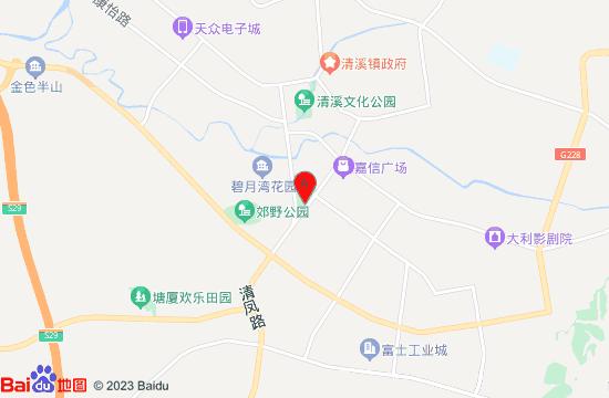 东莞金泰丰缤纷水乐园地图