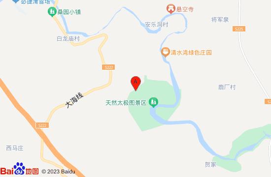 鹤壁太极图景区地图