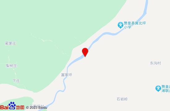 天野嶂石岩峡谷漂流地图