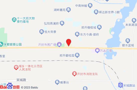 开封博物馆地图