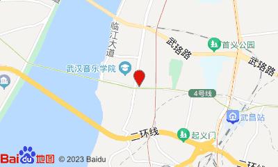 银兴电影城湖北剧院店周边地图
