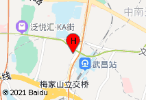 锦江之星(武汉武昌火车站店)电子地图