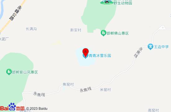 永年青青滑雪滑草乐园地图