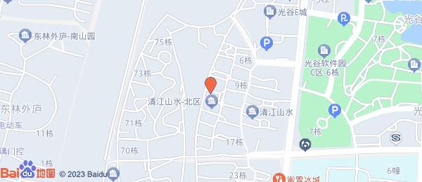 清江山水小区地图