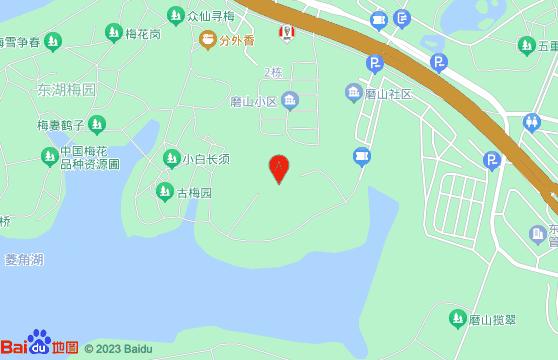 武汉东湖梅园交通图