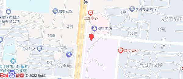 光谷新世界小区地图