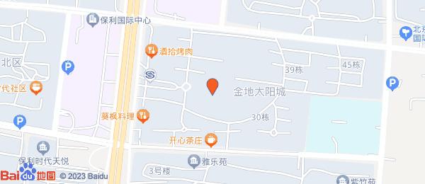 金地太阳城小区地图