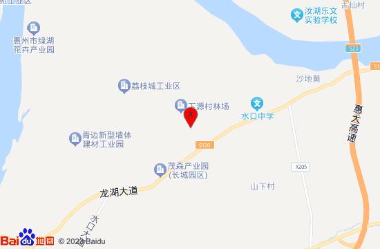 惠州海纳花海地图