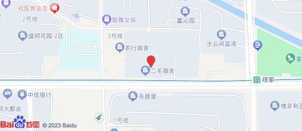 二毛宿舍小区地图