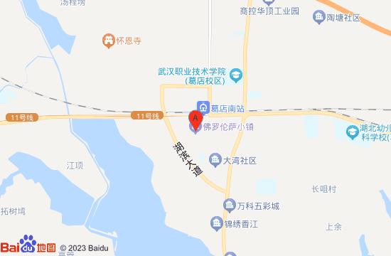 武汉佛罗伦萨小镇地图