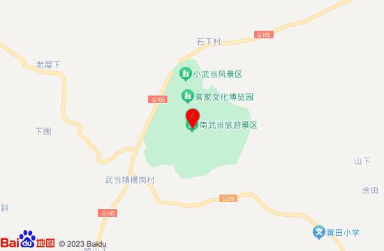 龙南武当冰雪城地图