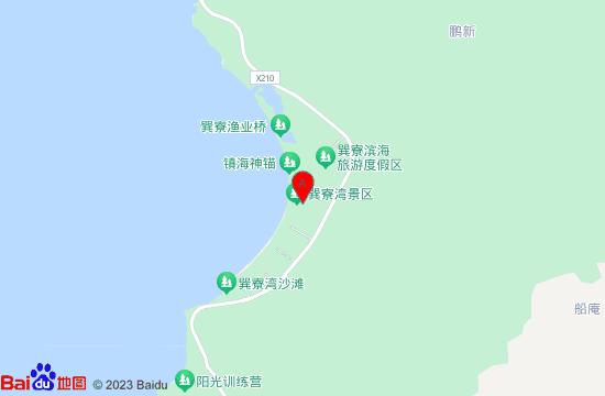 惠东巽寮湾旅游度假区地图