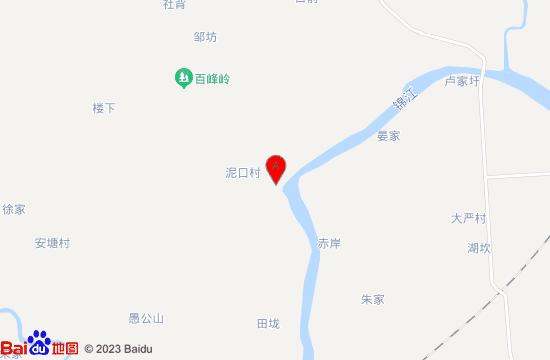 高安百峰岭地图