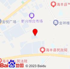 汕尾富民住宿(海丰店)位置图