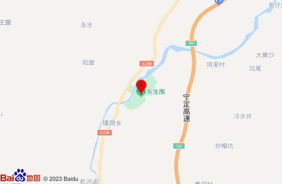 安远东生围地图