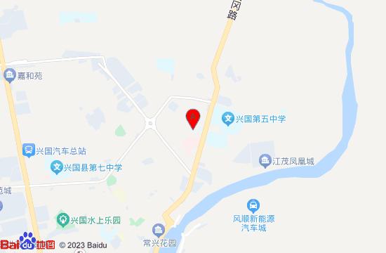 兴国地图(兴国县政府)