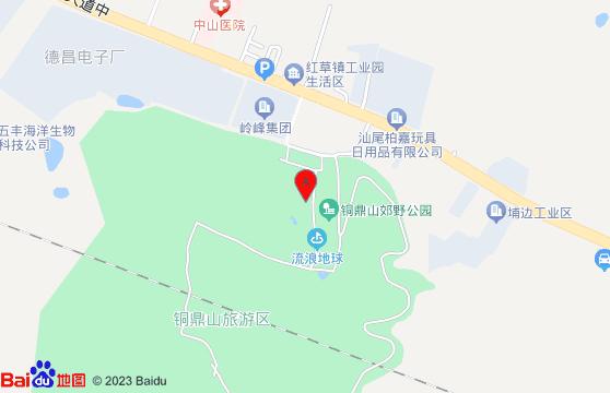 汕尾铜鼎山地图