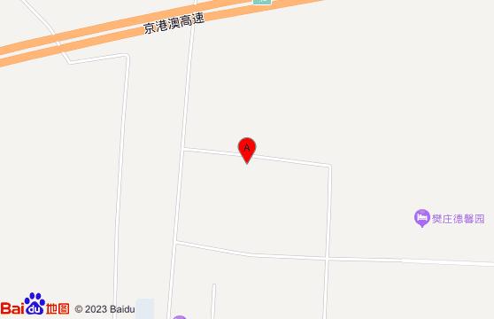 保定清苑德馨园温泉地图