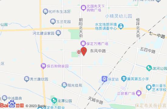 保定京东达夫博物动物园地图