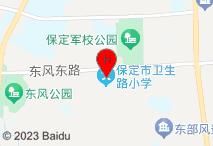 锦江之星(保定军校广场店)电子地图