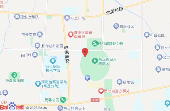 商丘日月湖地图