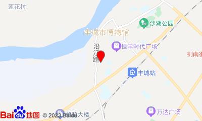 丰城星河国际影城周边地图