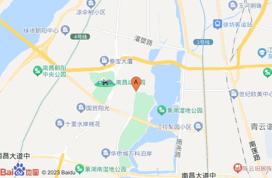 南昌华侨城玛雅乐园灯会地图
