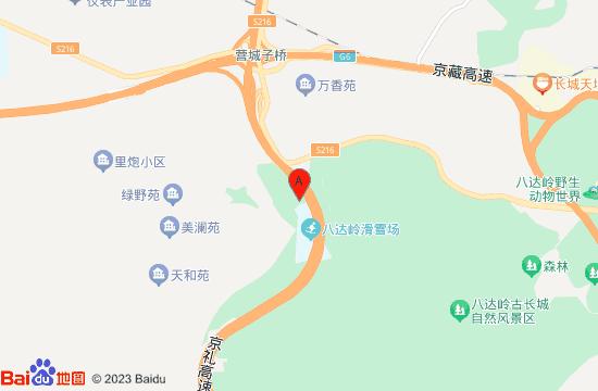 八达岭碧雪庄园地图