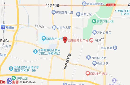 南昌天香园地图