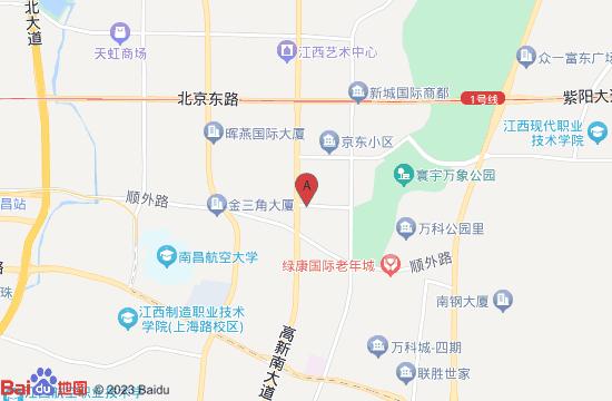 南昌萤火虫蹦床主题公园地图