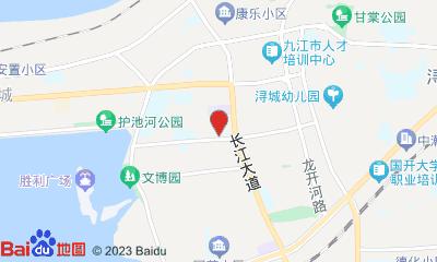 九江时代华纳影城周边地图