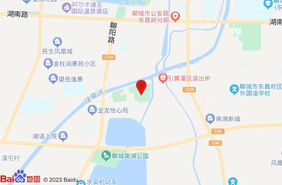 聊城姜堤乐园地图