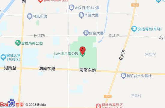 聊城九州洼月季公园地图