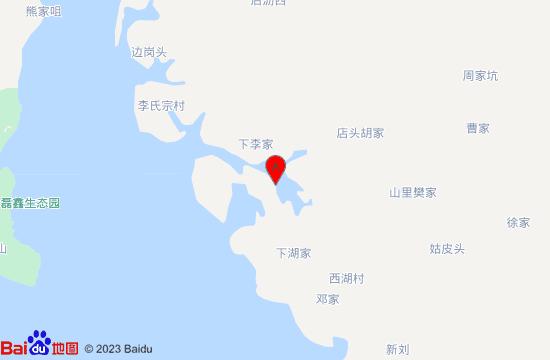 进贤西湖李家地图