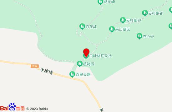 丰宁白桦林狂欢谷地图